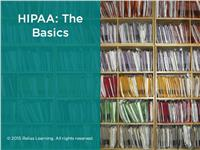 HIPAA: The Basics