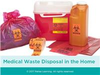 Medical Waste Disposal in the Home